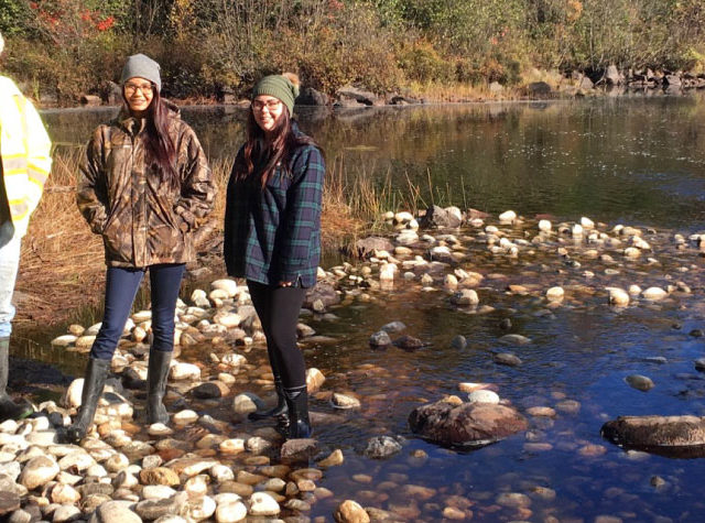 Water First: Kacie McLaren and McKaylii Jawbone of Kebaowek First Nation