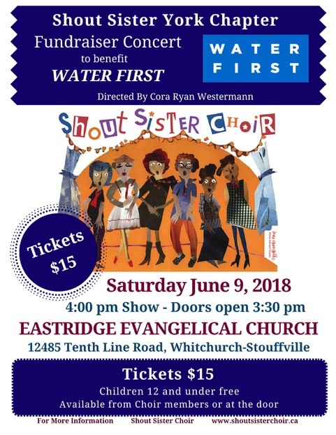 Shout Sister! Choir poster
