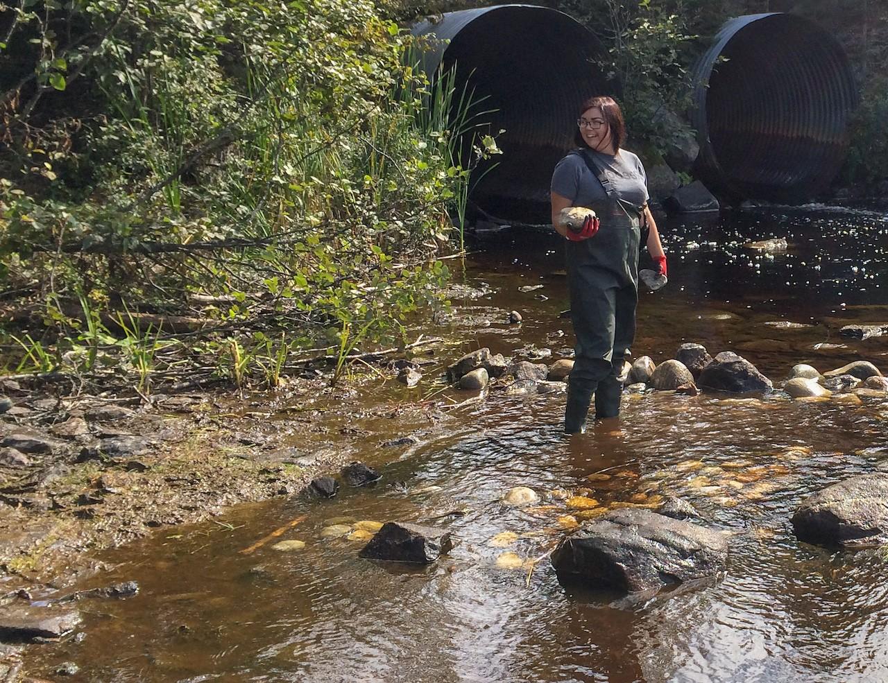 Water First Intern, Kacie McLaren