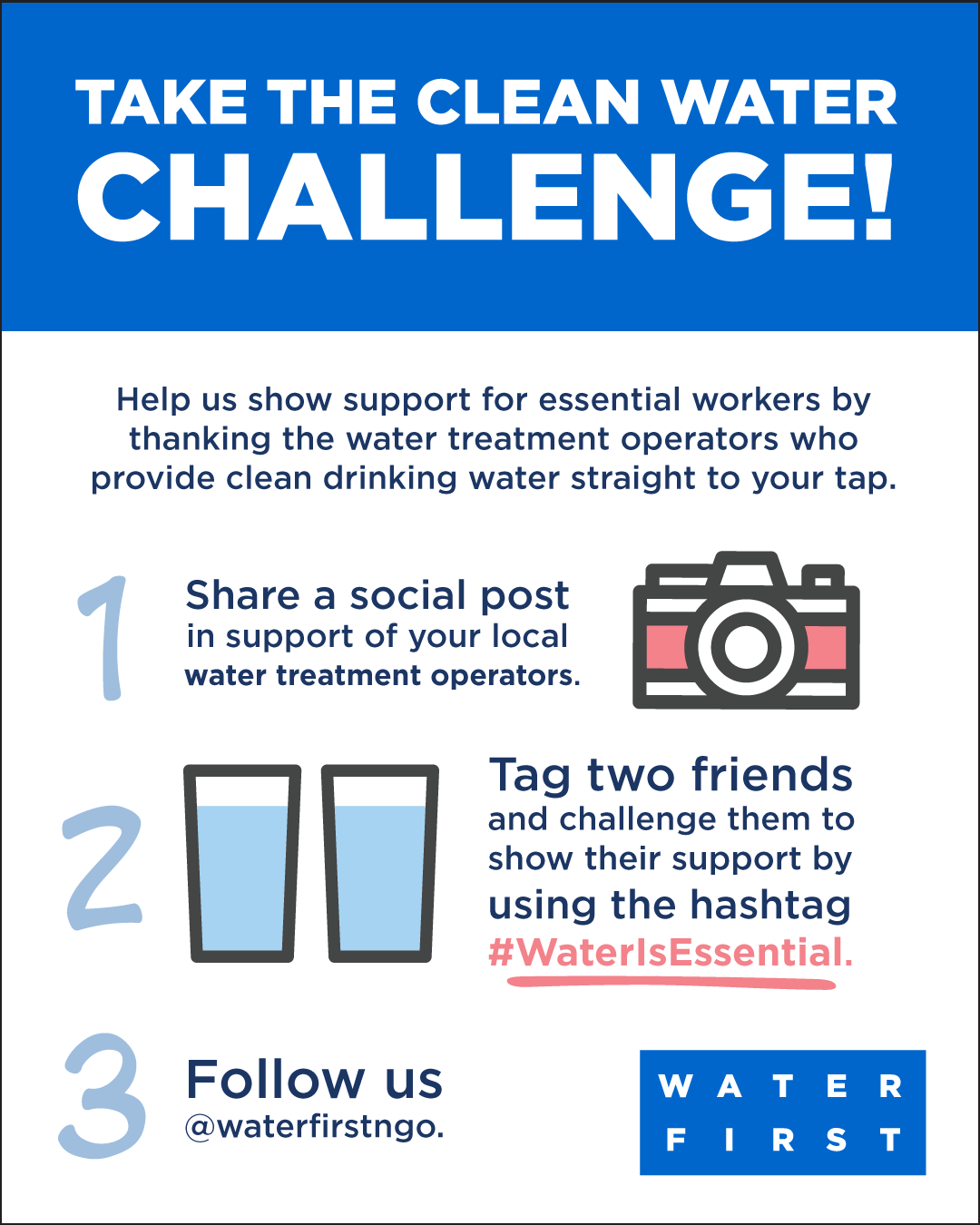 Take the clean water challenge